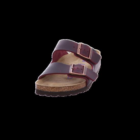 Birkenstock Pantolette Arizona SFB FL Zinfandel Rot