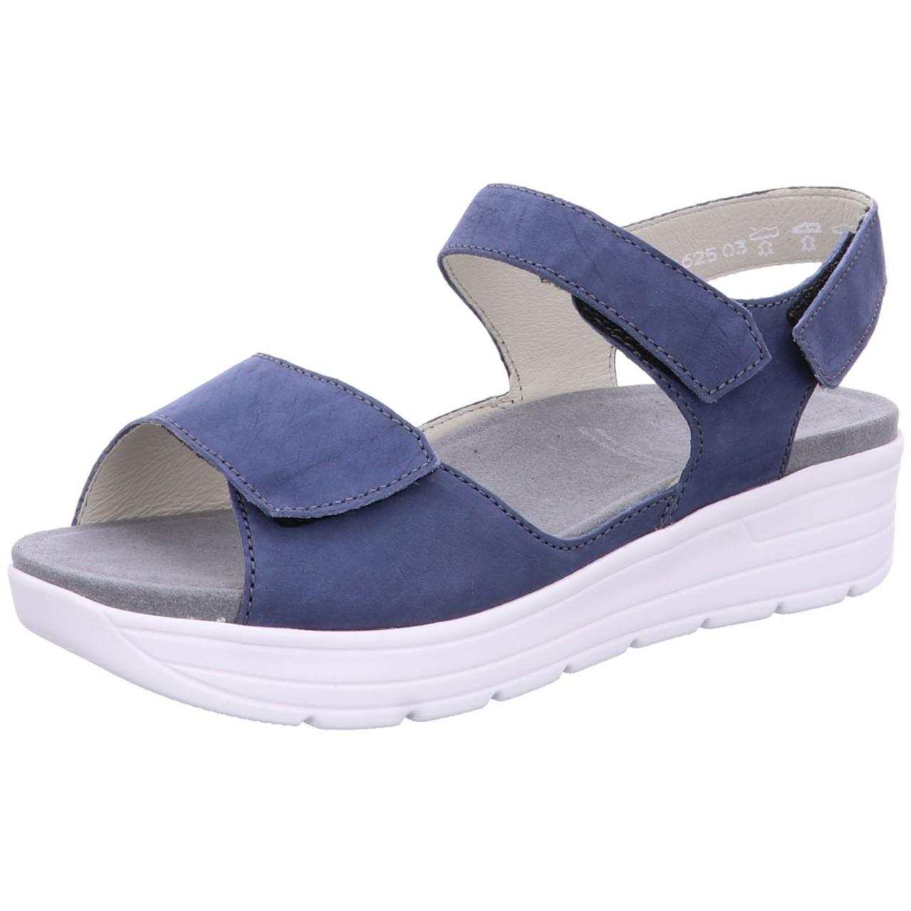 Solidus Sandale Greta Blau blue 48000 80008