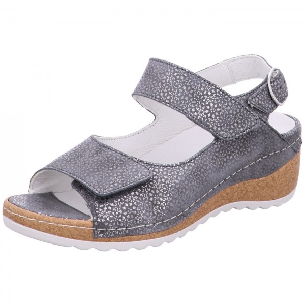 am besten einkaufen Premium-Auswahl große Auswahl Waldläufer Sandale Hanila Grau