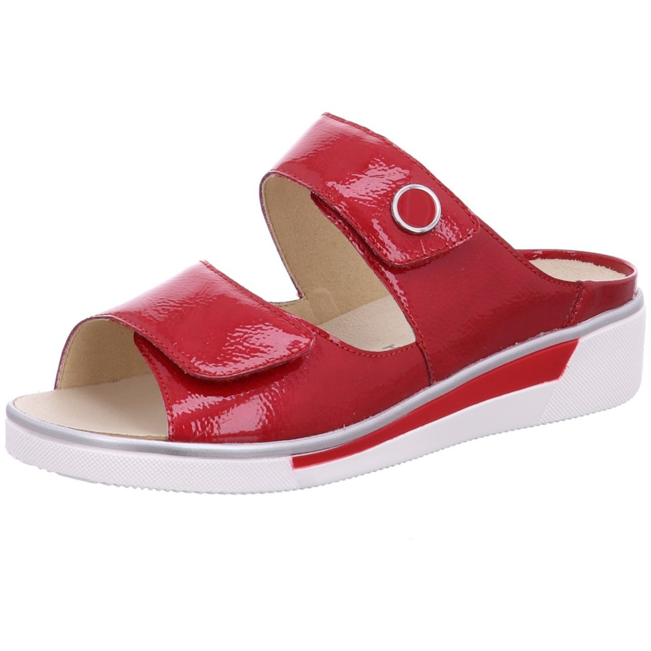 Ara Pantolette COURTYARD Rot ROSSO 78 17448-78