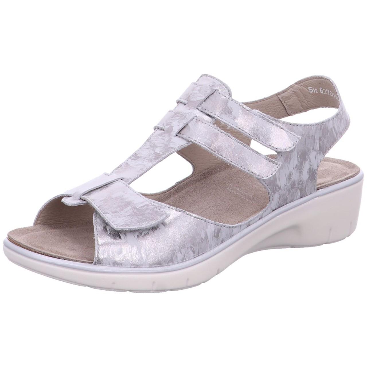 Solidus Sandale Gina G Grau grey 24002 20449