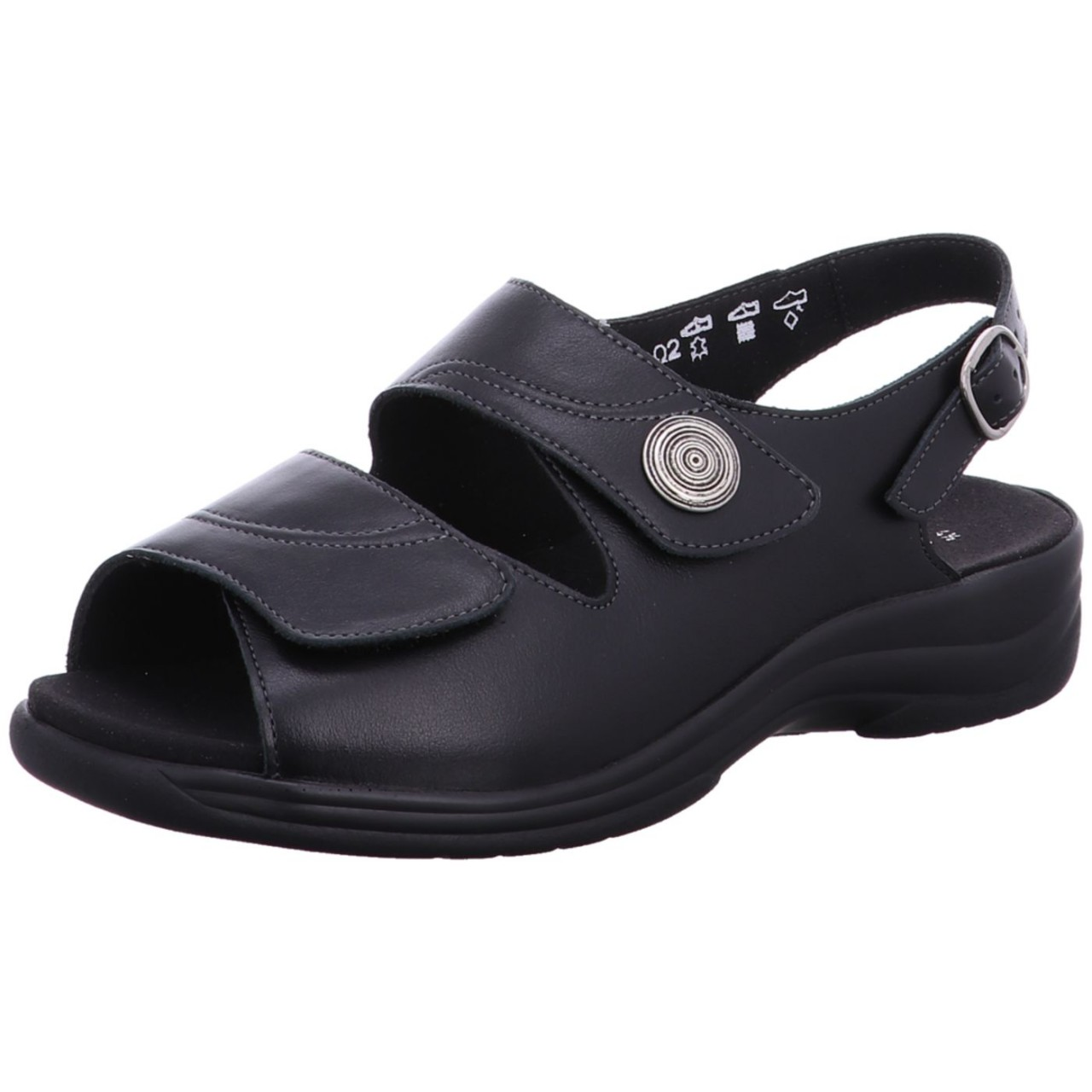 Solidus Sandale Moni Schwarz 74003 00098