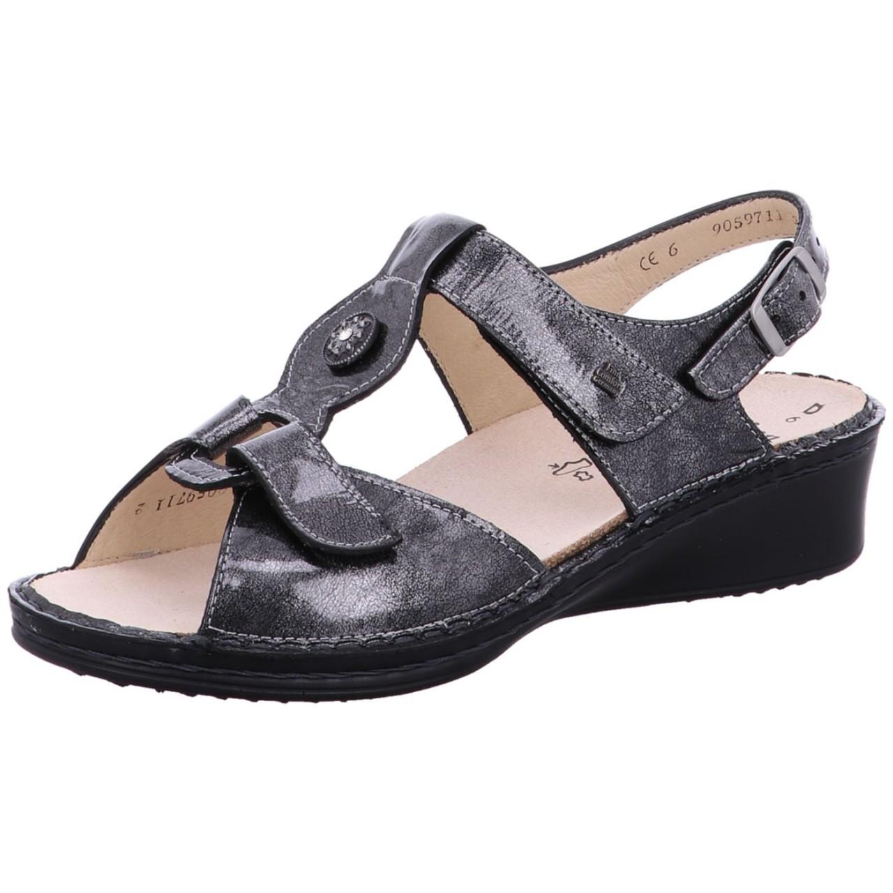 FinnComfort Sandale Adana City Metallic argento Adana 579297