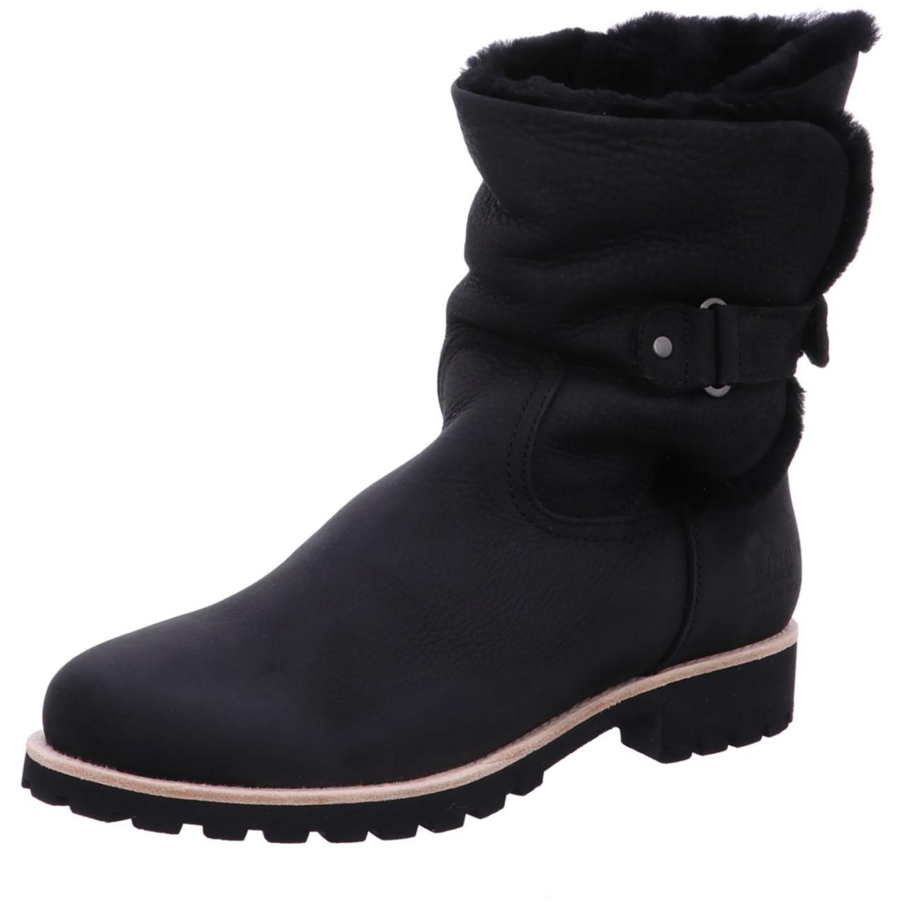 Panama Jack Boot Felia Igloo B16 Schwarz Felia Igloo B16 black