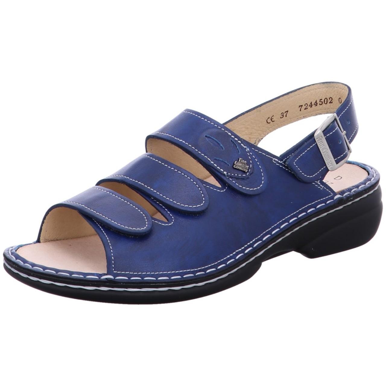 FinnComfort Sandale Saloniki Blau bluette Saloniki 243389