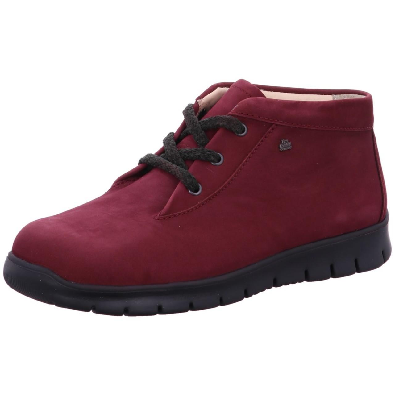 FinnComfort Boot Leon FinnRelax Rot redwine 2854 373436