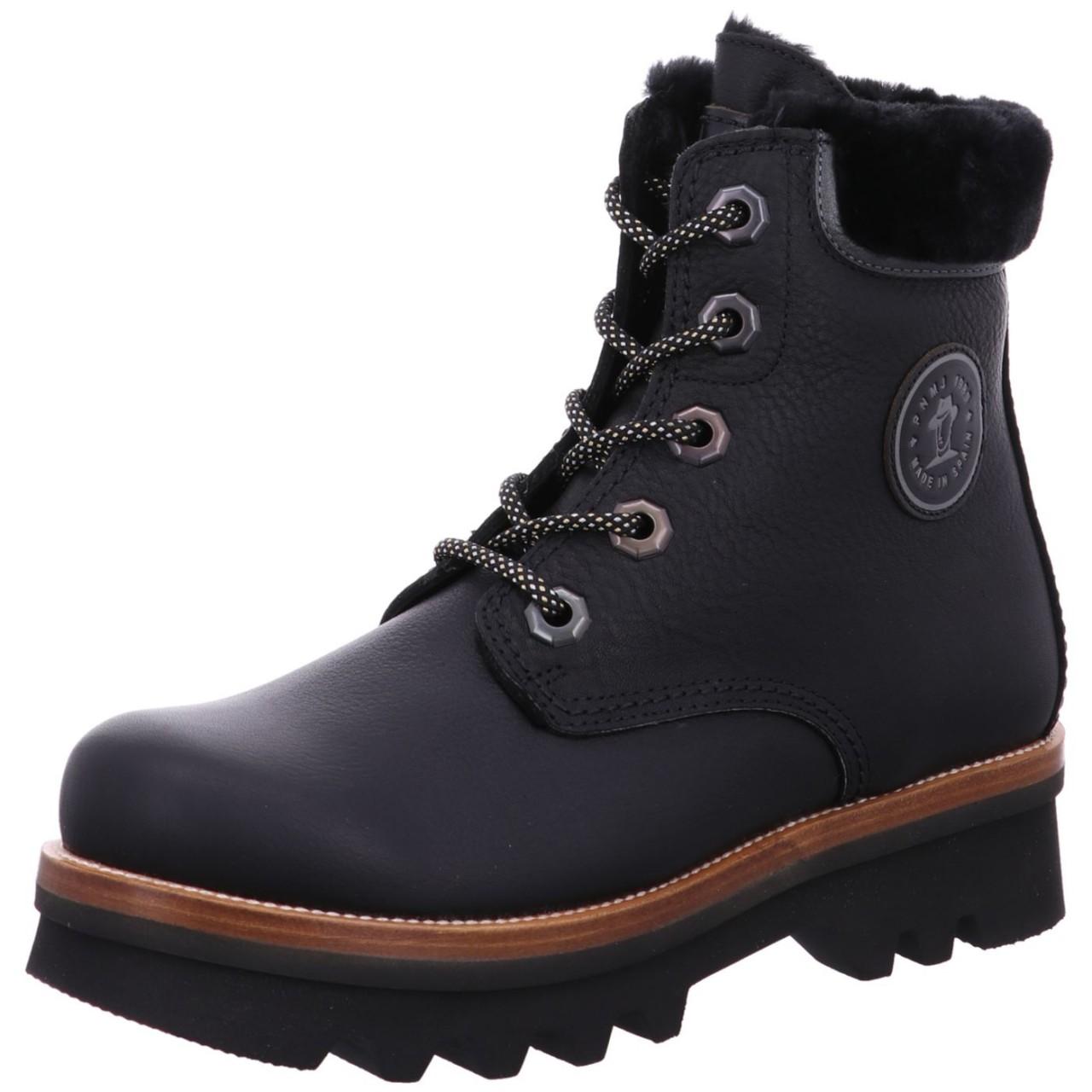 Panama Jack Boot Munster B1 Schwarz Munster B1 black